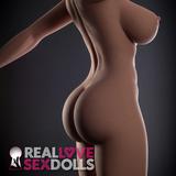 Busty tall premium life like TPE 170cm sex doll