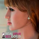 Shy demure MILF mature cougar premium TPE sex doll head #156
