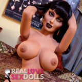 Deadly succubus hot super curvy premium TPE 148cm D-cup sex doll Aphrodisia
