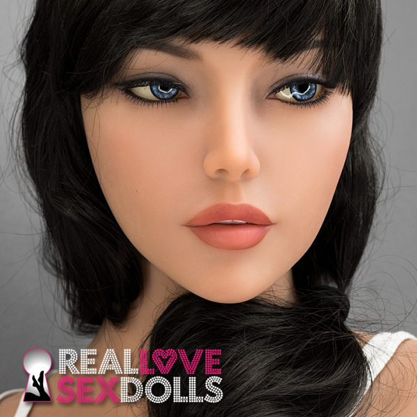 Exotic beauty, hot replacement premium TPE sex doll head #262