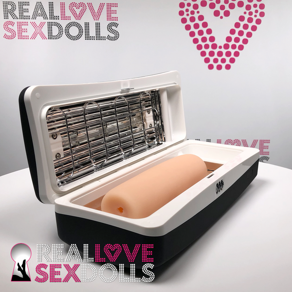 UV Sterilizer for TPE vaginal inserts.  Proven 99.9% effective  at killing bacteria on TPE surfaces and core.