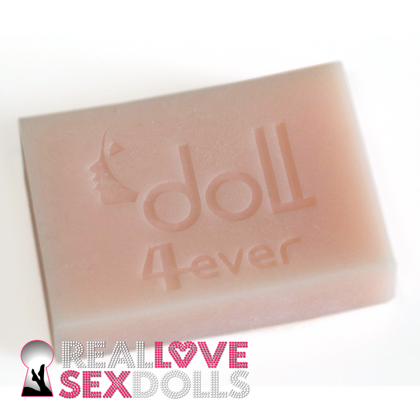 Block of Doll-forever / Piper Doll Platinum TPE Sample in Pink White.