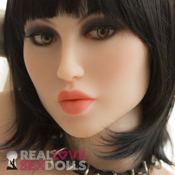 Sexy exotic life-like high quality TPE love doll replacement head #182