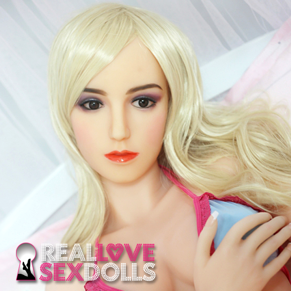 Glamorous Euro beauty high-quality TPE love doll head #52