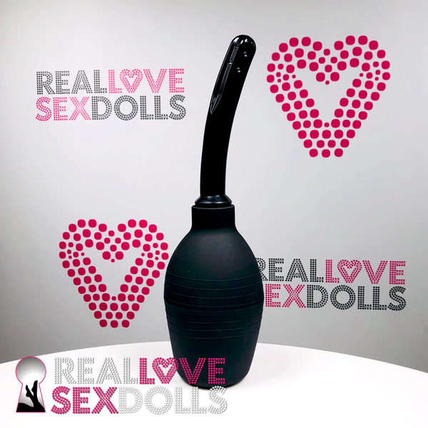 love doll vaginal irrigator to clean vagina of sex doll