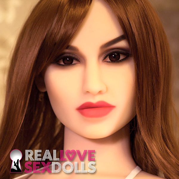 Sultry stunner sexbomb premium TPE love doll head #174