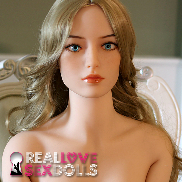 Elegant high class sexy premium TPE love doll head #167