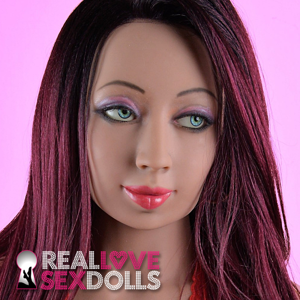 Hot experienced lover premium TPE realistic love doll head #184