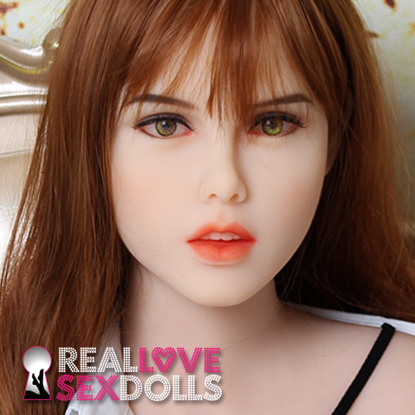 Beautiful girl next door premium TPE love doll head #185