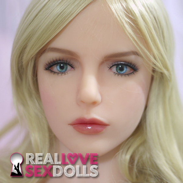 Sex Doll Kalisy Head at RealLoveSexDolls.com for TPE sex doll body.
