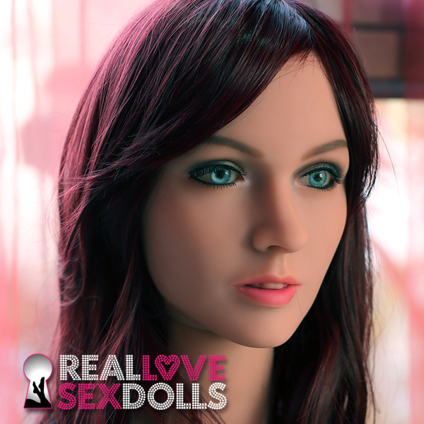 Sexy mature TPE realistic love doll head