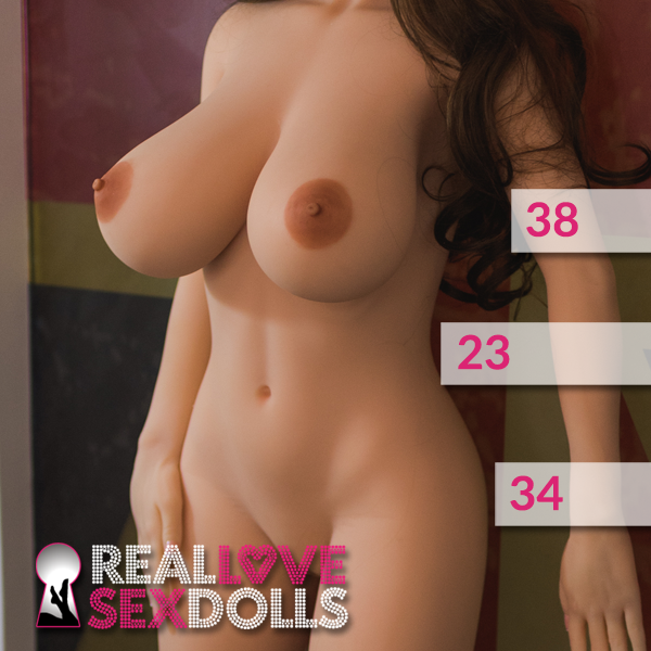 Premium 156cm H-cup voluptuous TPE sex doll