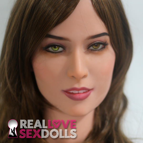 Stunning beauty premium TPE love doll head #47