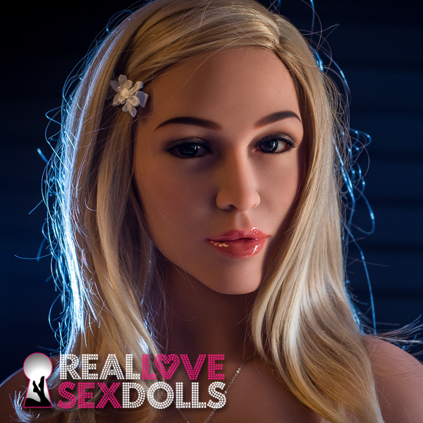 Seductive beauty premium realistic TPE sex doll head #117