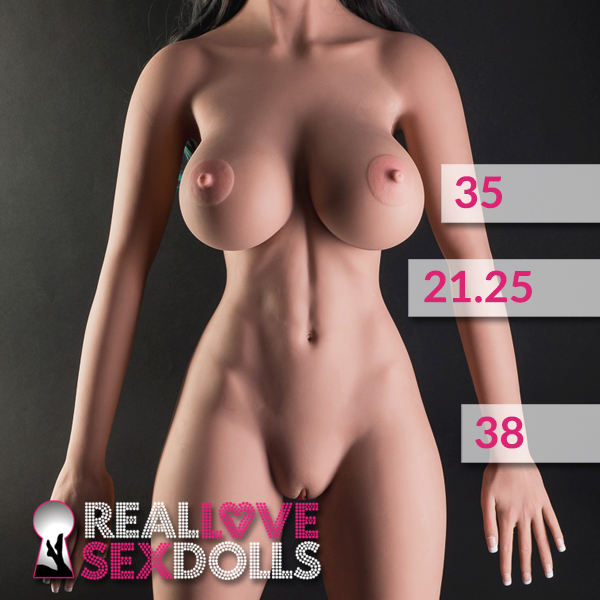 Busty tall premium life like TPE 170cm sex doll