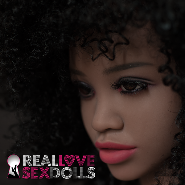 Cool large afro sex doll wig as seen on TPE doll Shani