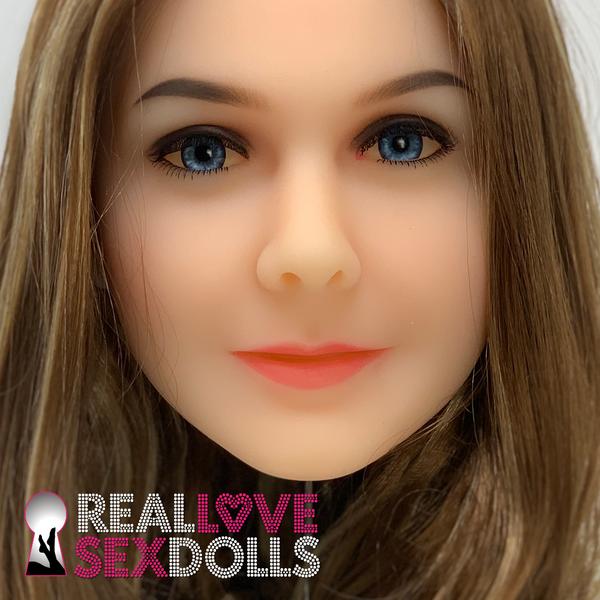 Experienced mature woman premium TPE sex doll head 43
