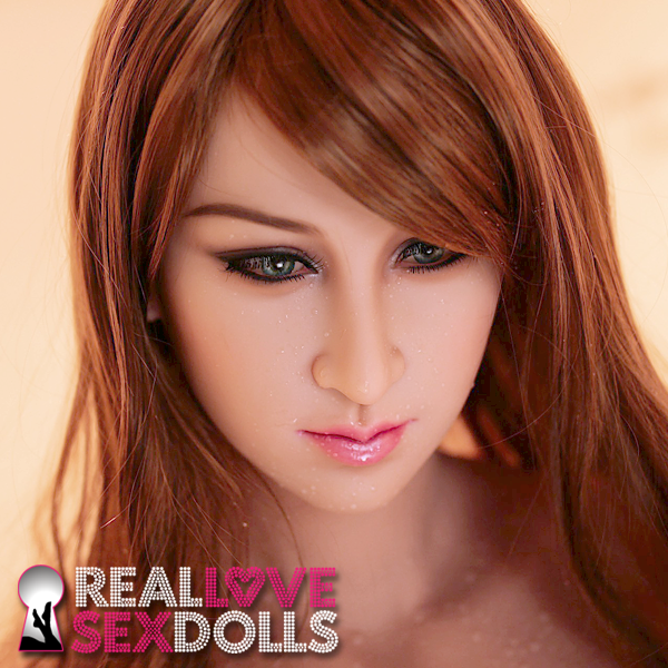 Coquettish beauty girl next door premium TPE sex doll head