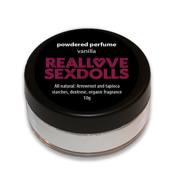 Vanilla scented Sex Doll powdered perfume