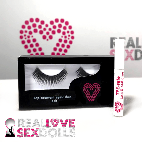 Real Love Sex Dolls Replacement Eyelashes for  love dolls.