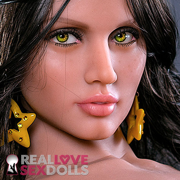 The beautiful sex doll head #200 inspired by Ana de Armas, an RLSD exclusive.