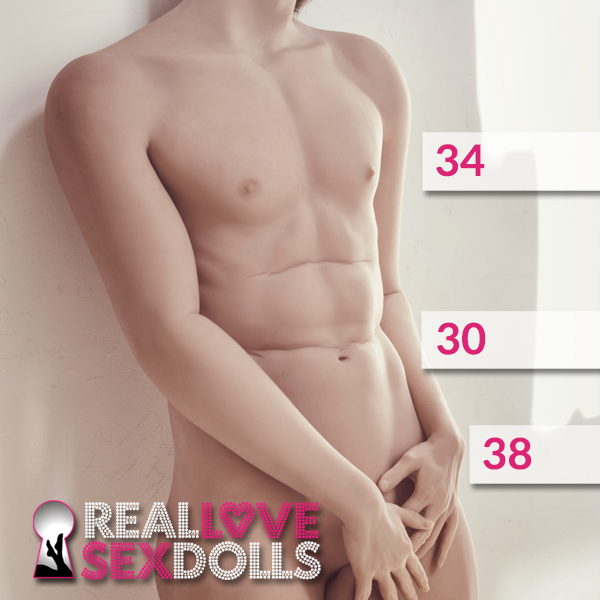Sexy fit lean muscle hot lover premium TPE male love doll 175cm body