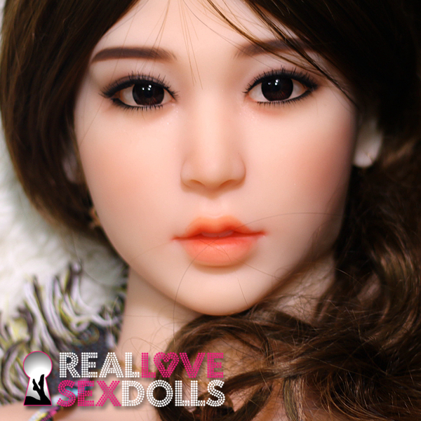 Beautiful Japanese girlfriend loving realistic TPE sex doll replacement head #230