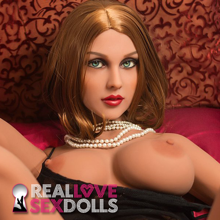 Fun and exciting glamour girl realistic TPE sex doll replacement head #242