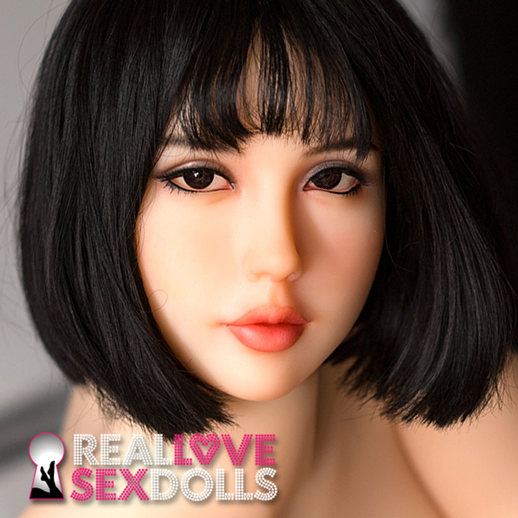 Seductive bedroom eyes lover premium TPE sex doll replacement head #233