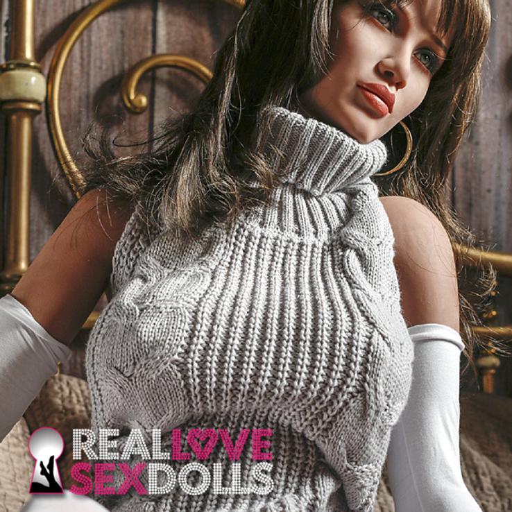 Mature sophisticated lover premium TPE sex doll 170cm D-cup Aria