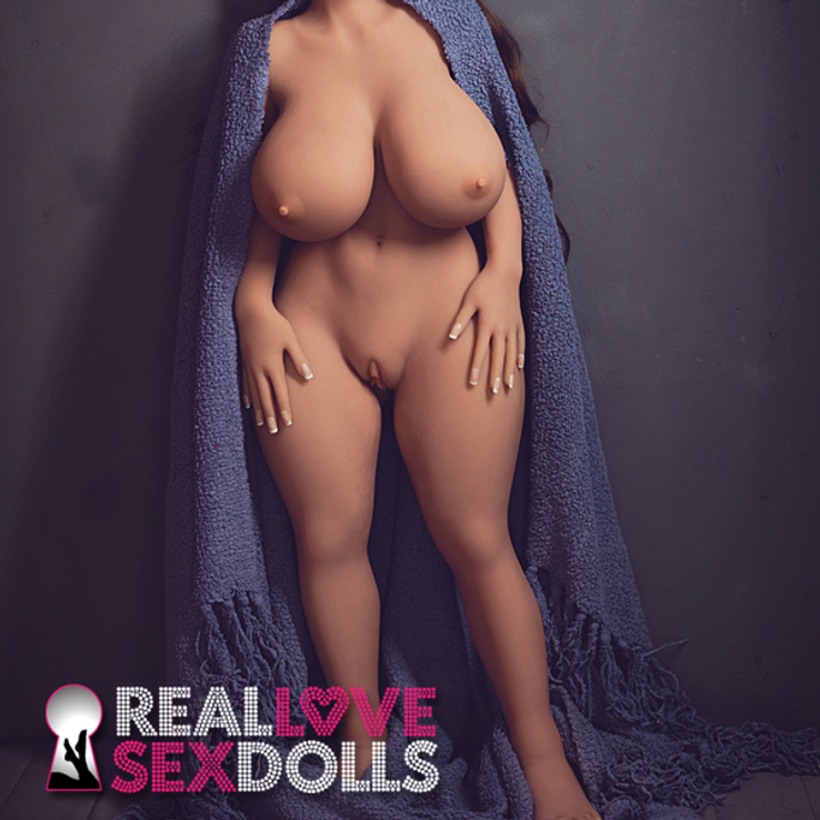 Hot curvy life-like TPE sex doll petite 108cm L-cup customizable body