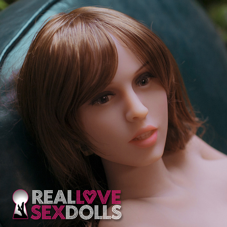 Sexy mature small doll premium TPE replacement love doll head #263