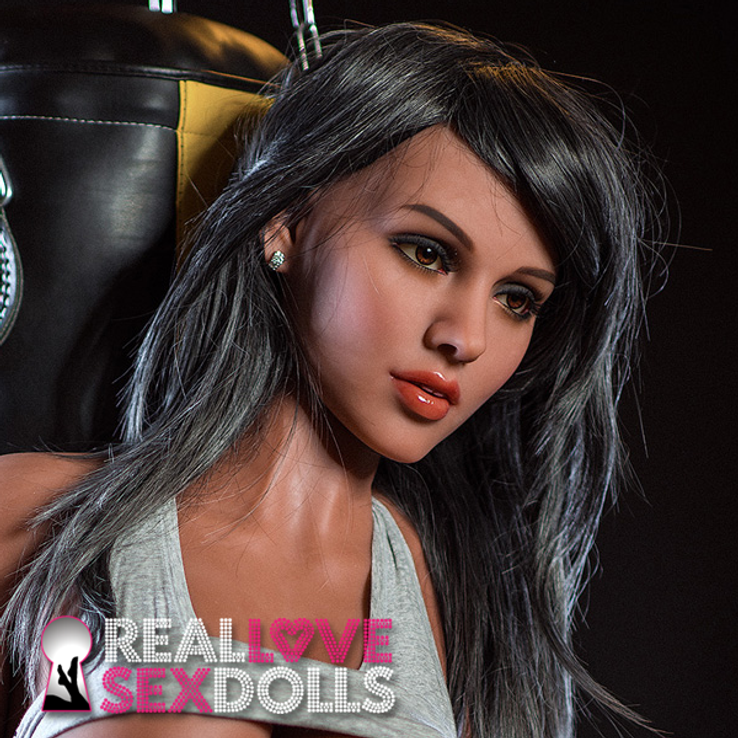 Stunning girl next door sexy replacement head #273 for life-like TPE sex dolls