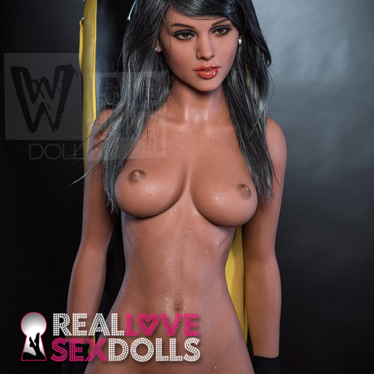 Tight, athletic and busty life-like 166cm C-cup TPE sex doll body