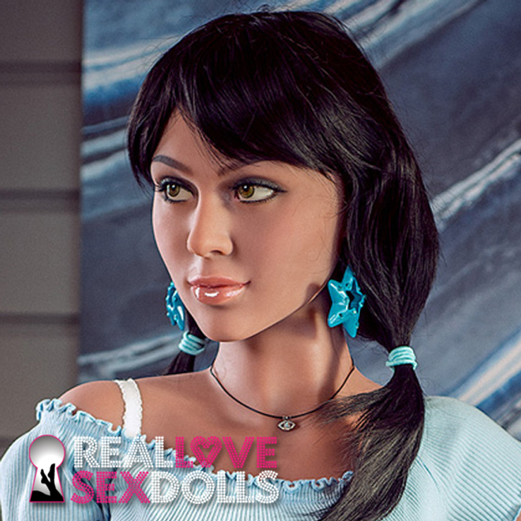 Cute and fun high quality TPE sex doll replacement head #266