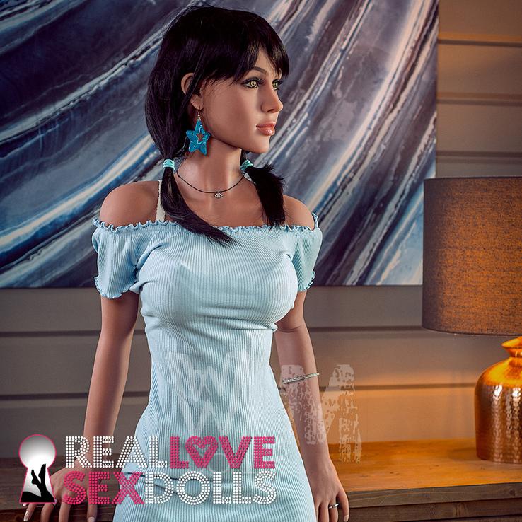 Cute honeypot lover realistic TPE sex doll companion Karina 166cm C-cup
