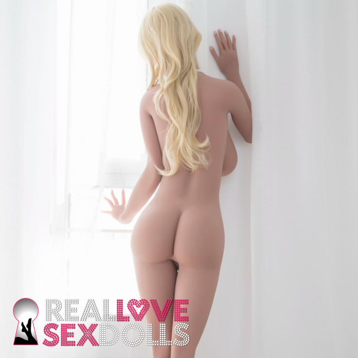 Tall super busty big butt elegant lover realistic TPE sex doll 172cm G-cup Madeline