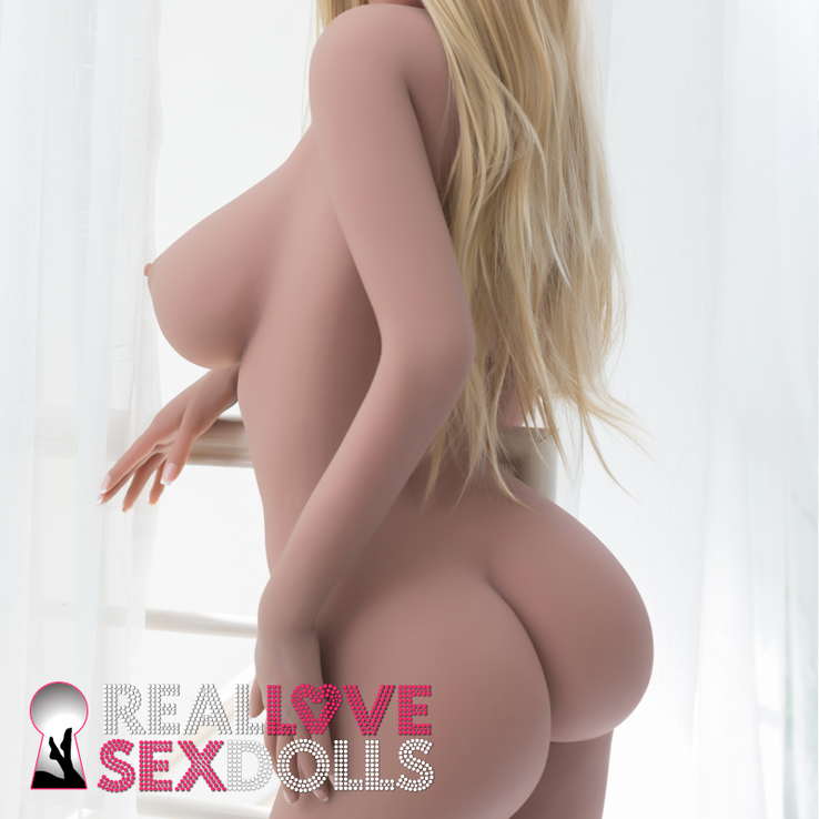 Sexy Sydney gives hot kisses, a realistic soft TPE sex doll 172cm Big breasts G-cup