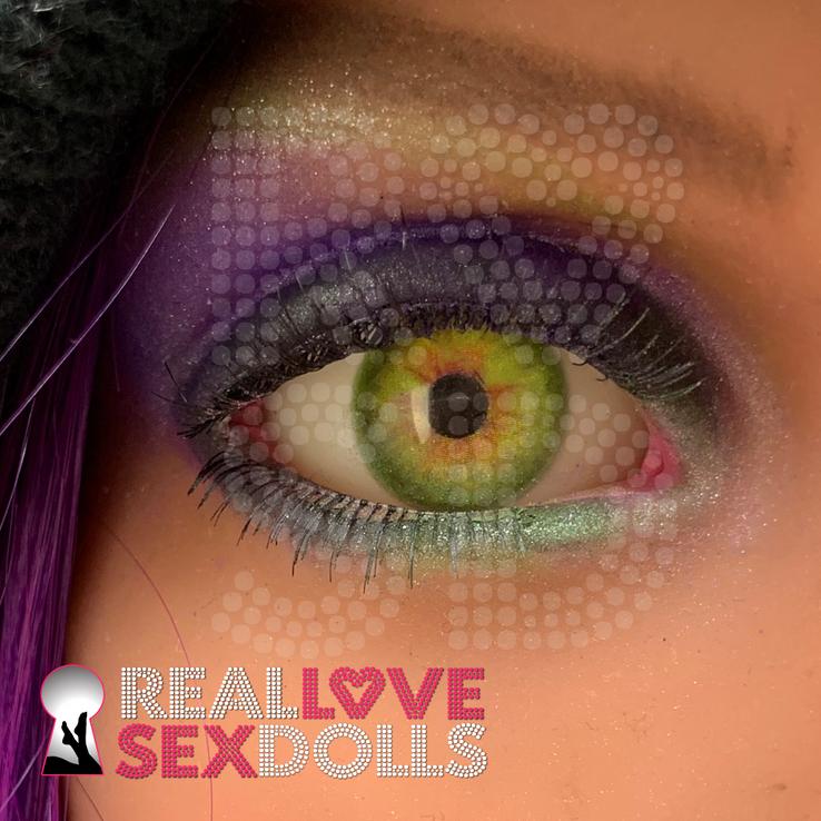 Jade Green Sex Doll Eyes