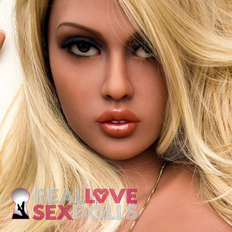 WM Dolls sex doll head #336
