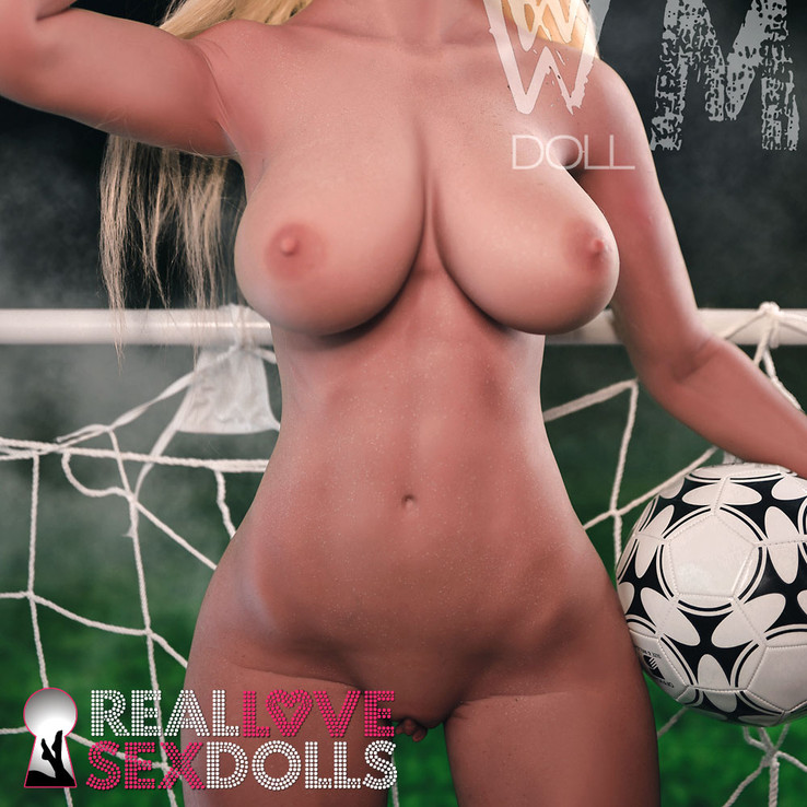 5ft6 sex doll with thick ass and beautiful natural breasts.  Buy the 168cm F-cup by WM Doll.