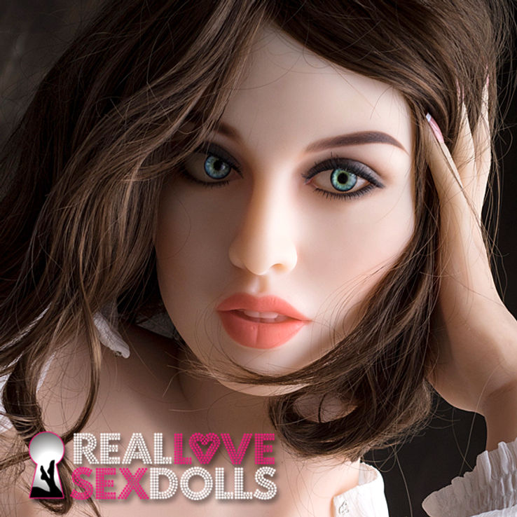 Sexy high quality premium TPE love doll replacement head #108