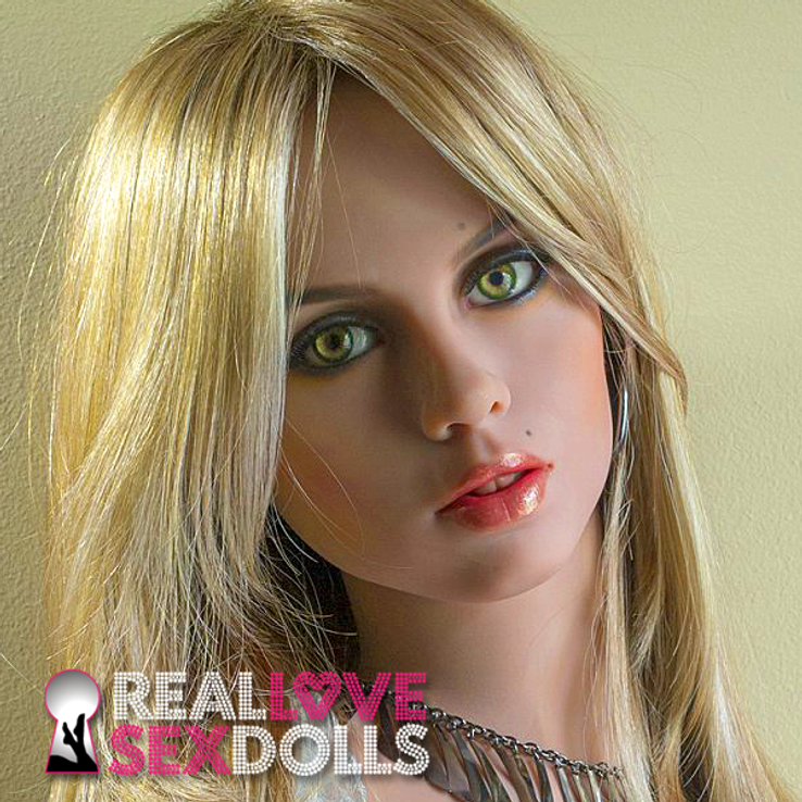 Gorgeous exotic beauty premium replacement TPE sex doll head #188