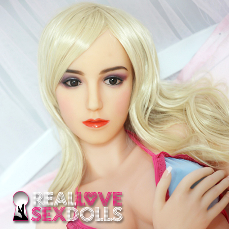 Glamorous Euro beauty high-quality TPE love doll head #52