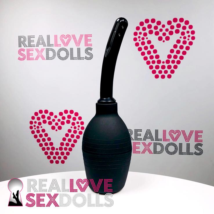 love doll vaginal irrigator to clean vagina of sex doll