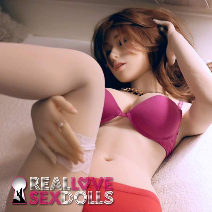 Sexy sleeping beauty hot lover life-like TPE sex doll 156cm D-cup Ecstasy