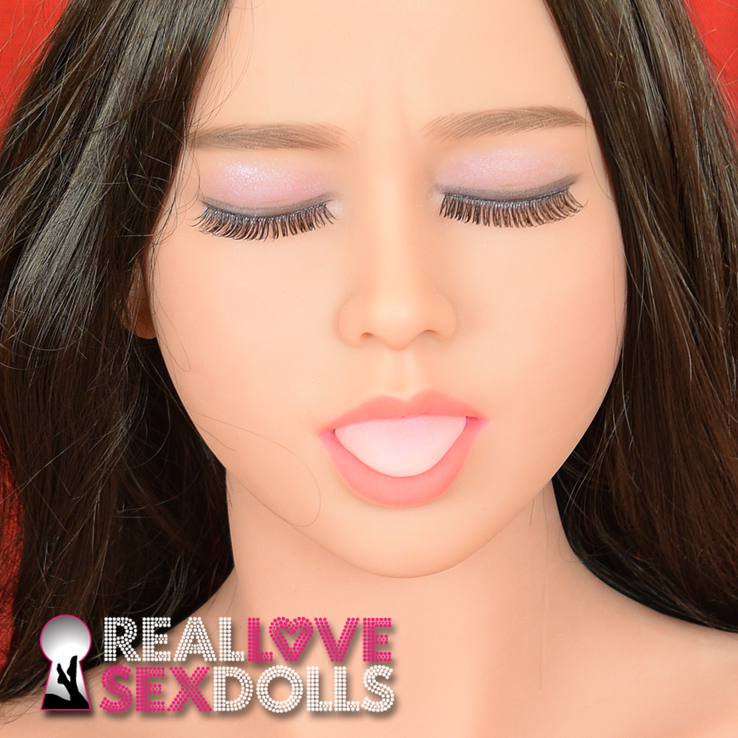 Real love sex doll head #39
