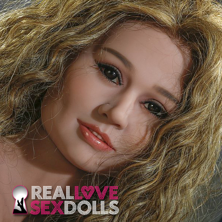 Fun and energetic premium TPE sex doll head #163