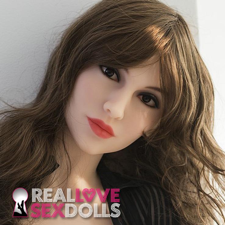Sexy older woman hot premium TPE sex doll head #201