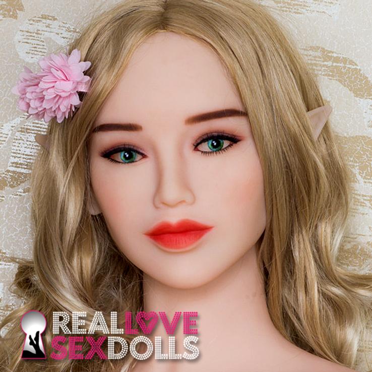 Elegant sophisticate Elf head for premium TPE love dolls